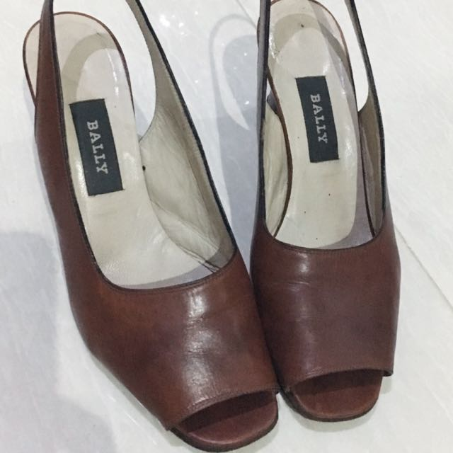Preloved Bally Heels Giavera Authentic