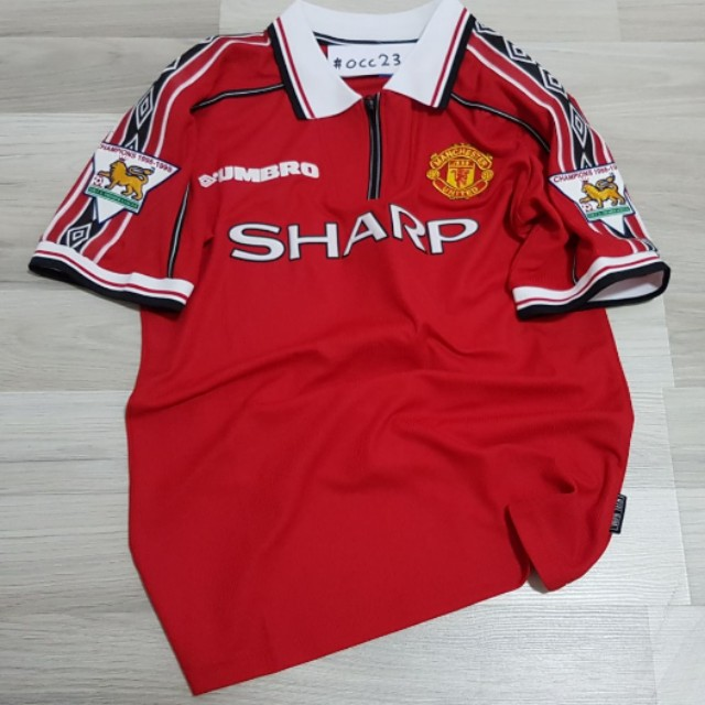 a00da3b2b Pre-order  98 99 Manchester United Home Jersey