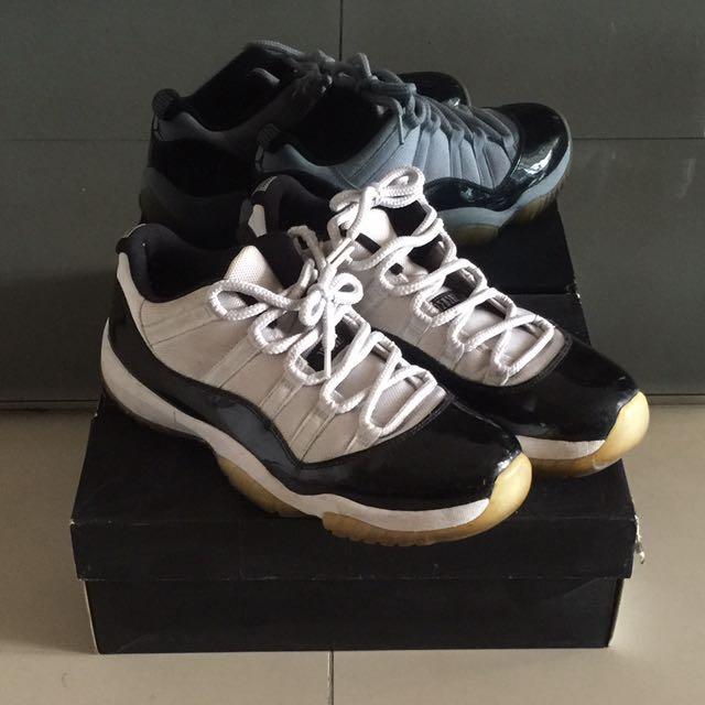 new style 372d6 745ee Price Reduce Jordan 11 Low Concord, Men's Fashion, Footwear ...
