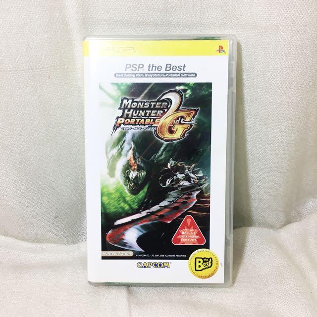 《全新》PSP 魔物獵人 2G