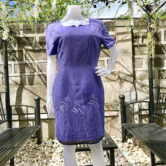 Purple Tulip Dress