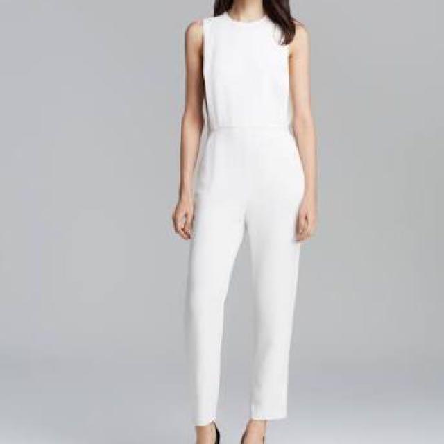 Reprice! White Jumpsuit
