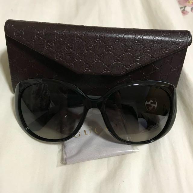 e4f2a4680f3 RESERVED!! Authentic Gucci Sunglasses (big size)