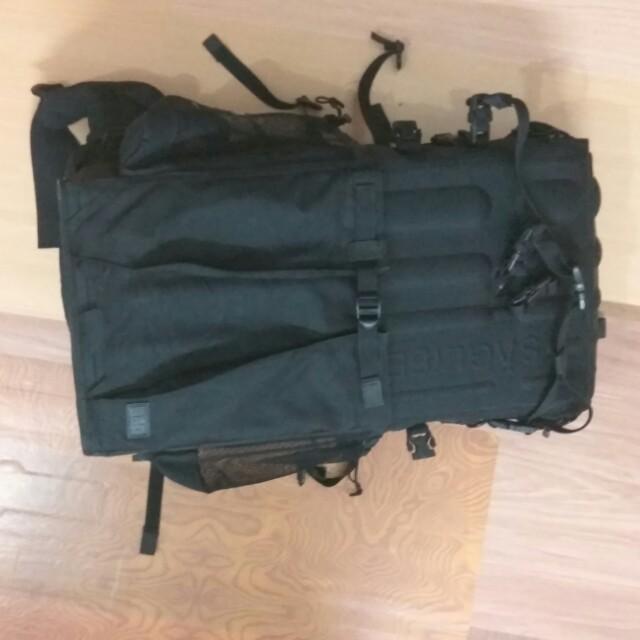 SAG LIFE BLACK BOX hardshell backpack