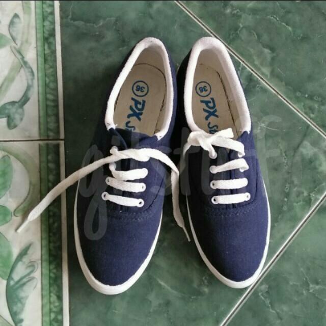 Sepatu PX Style Navy