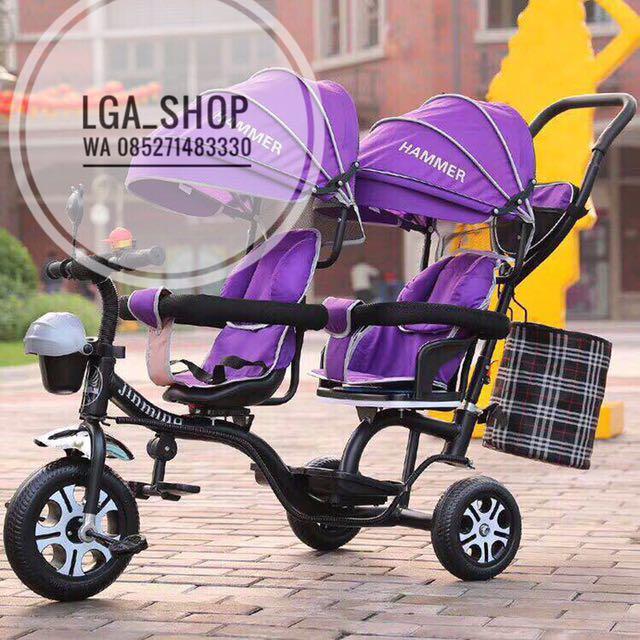Sepeda Bayi Kembar - Trend Sepeda
