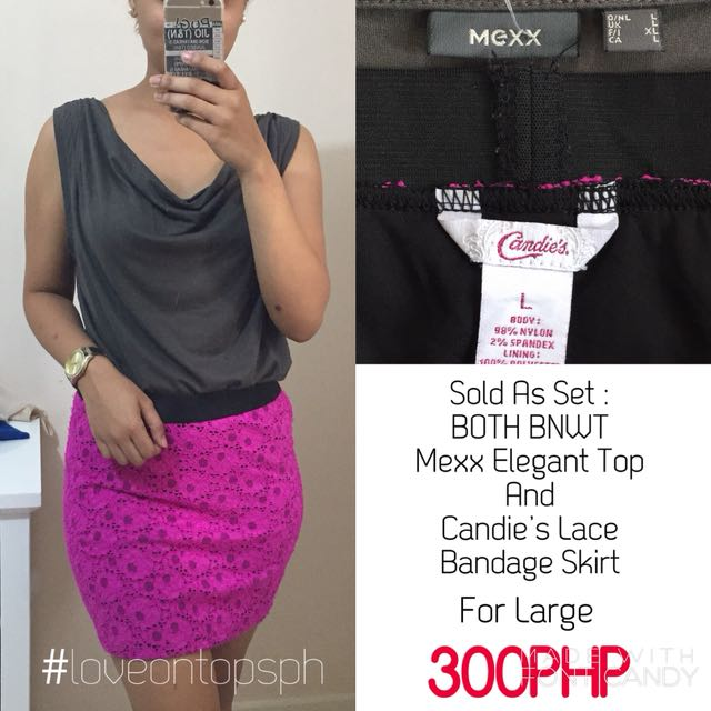SET: BOTH BNWT Mexx and Candie's