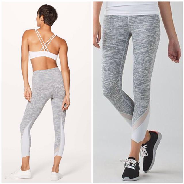 79ed4811a0e4ac Size 4 Lululemon Wunder Under Crop II (SPECIAL EDITION) Roll Down ...