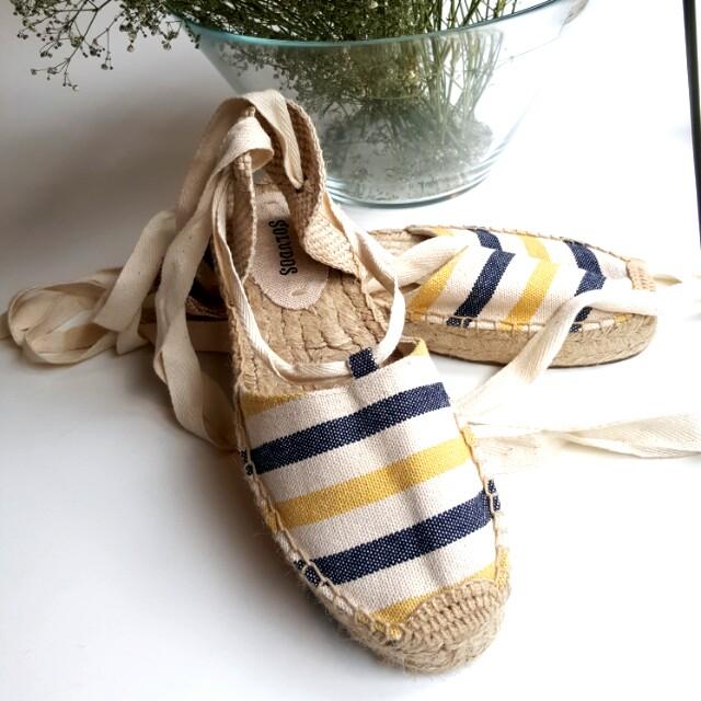 Soludos beach shoes