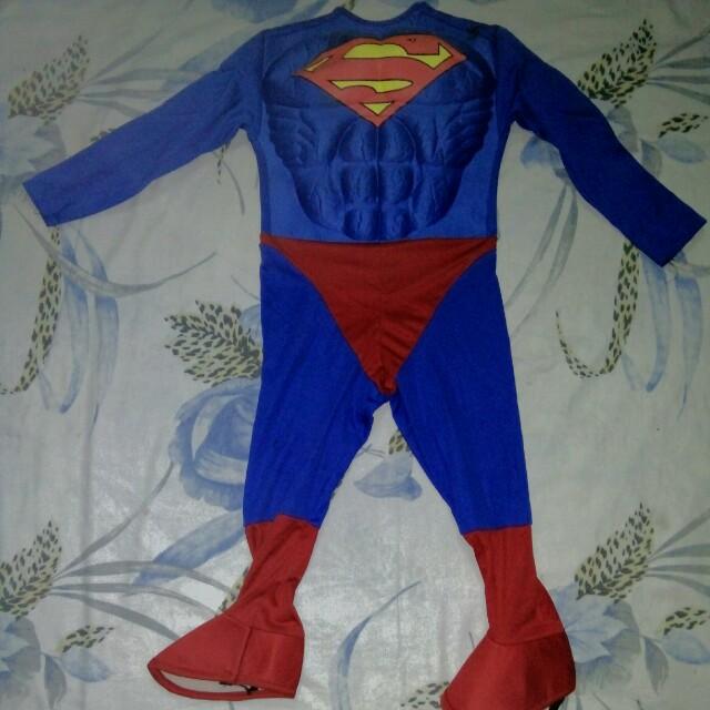 Superman costume 4-6 yrs old