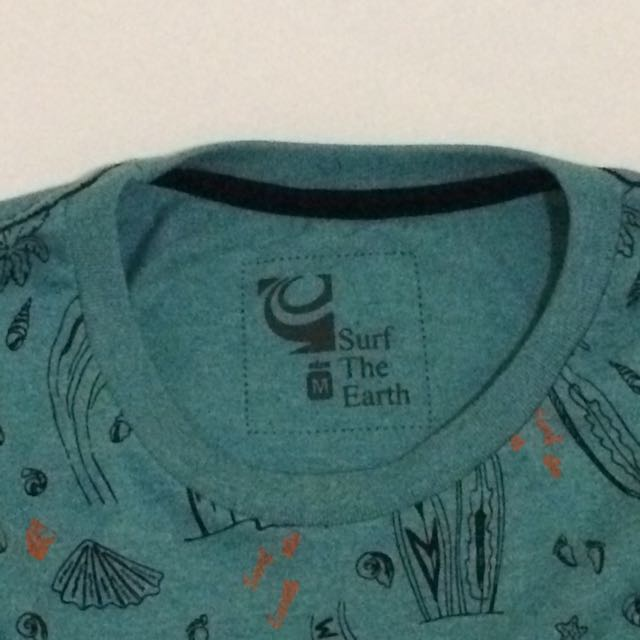 Surf The Earth T-shirt