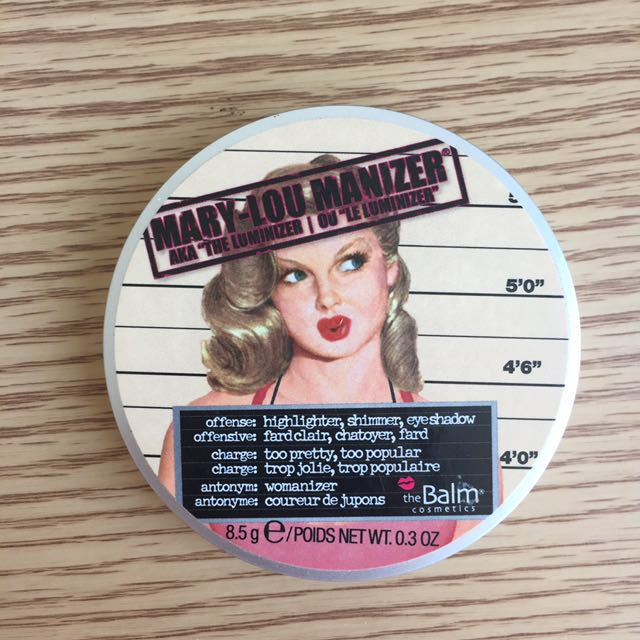The Balm Mary Lou Manizer Champagne Highlighter