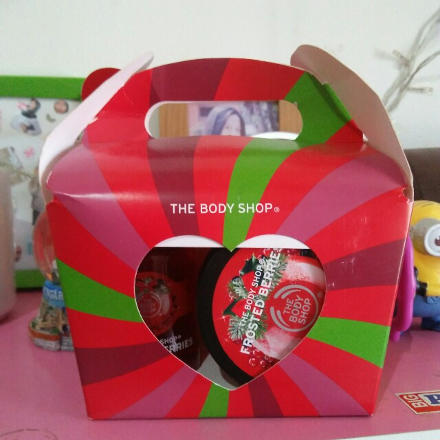 The body shop gift package