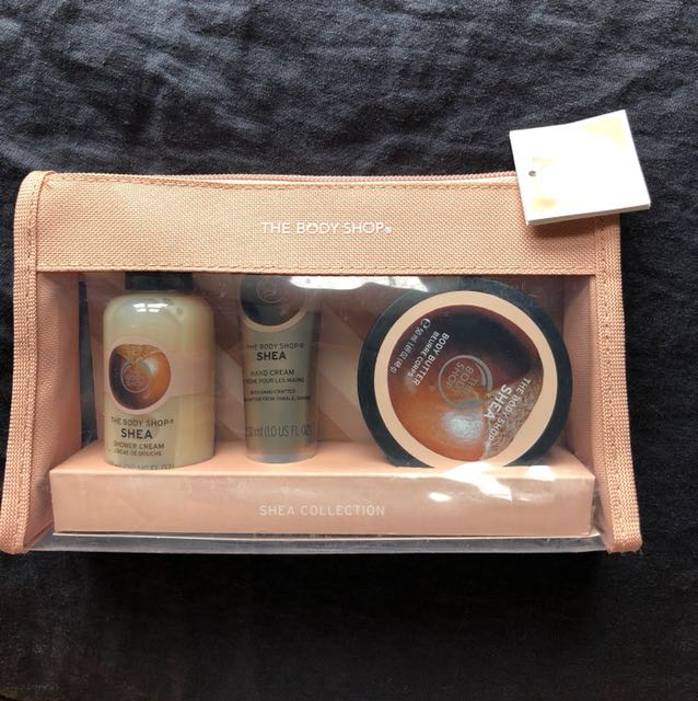 The Body Shop shea set
