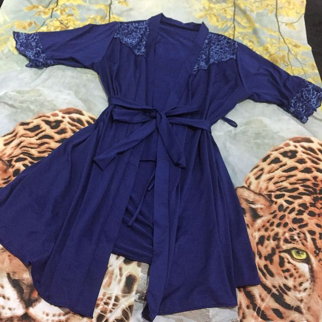 The brahouse kimono lingerie lace