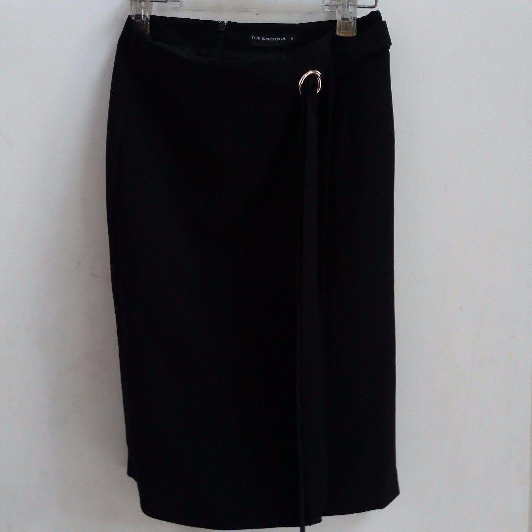 The Executive Office Skirt Black / Rok Kerja Hitam ( FREE ONGKIR )