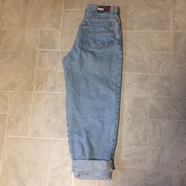 Tommy Hilfiger high waisted mom jeans