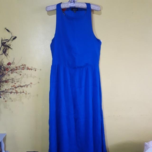 Topshop Maxi Dress with Slit