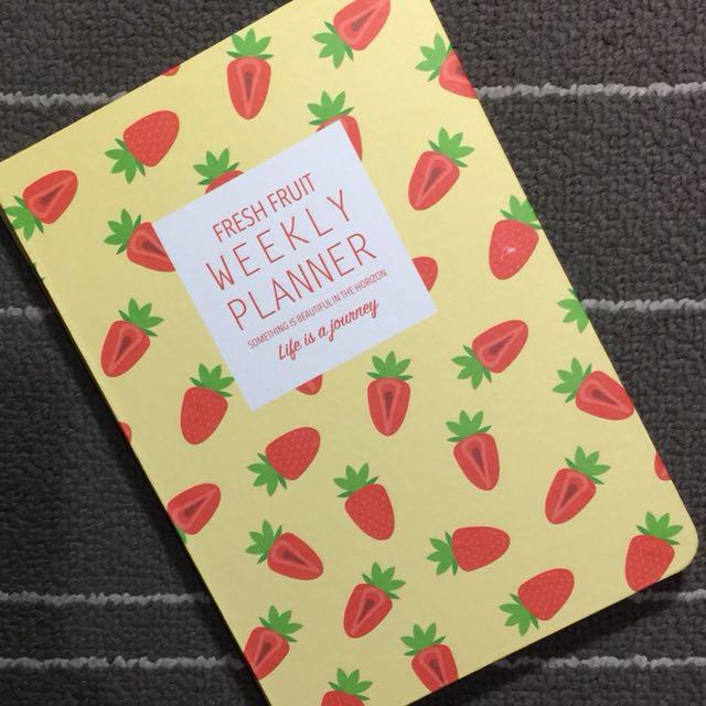Undated Planner Fruit