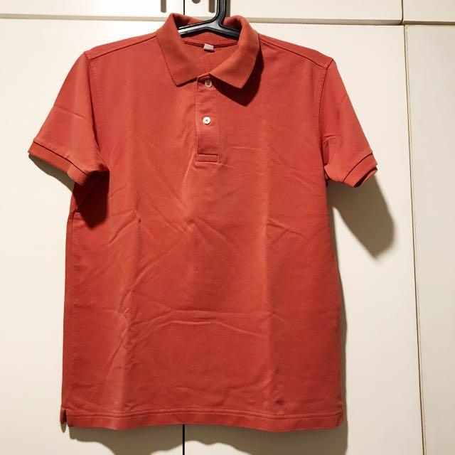 Uniqlo collared polo shirt