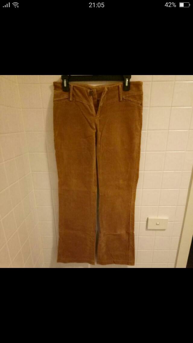Velvet Bootcut Jeans | Size M