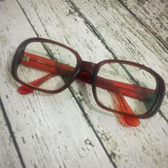 Vintage Glasses - Kacamata Vintage - Ukuran lensa 0 (normal)