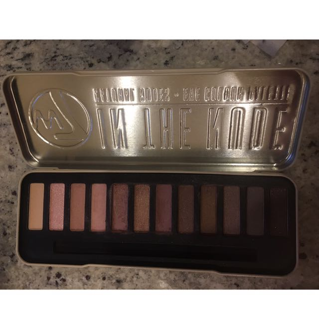 W7 In The Nudes Eyeshadow Palette