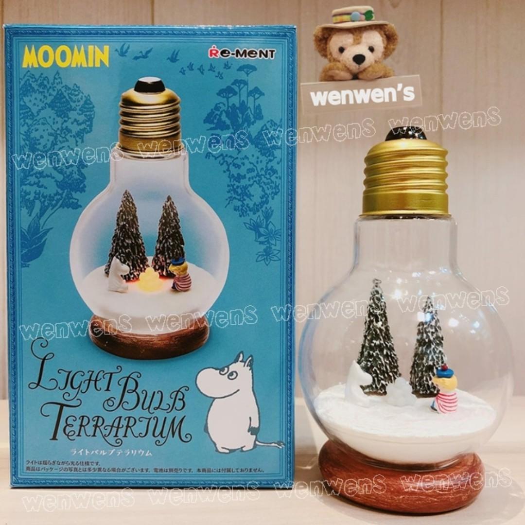 【Wenwens】日本帶回 Re-ment 盒玩 雪山 MOOMIN 嚕嚕米 姆明 LED 燈泡 場景 公仔 單售價