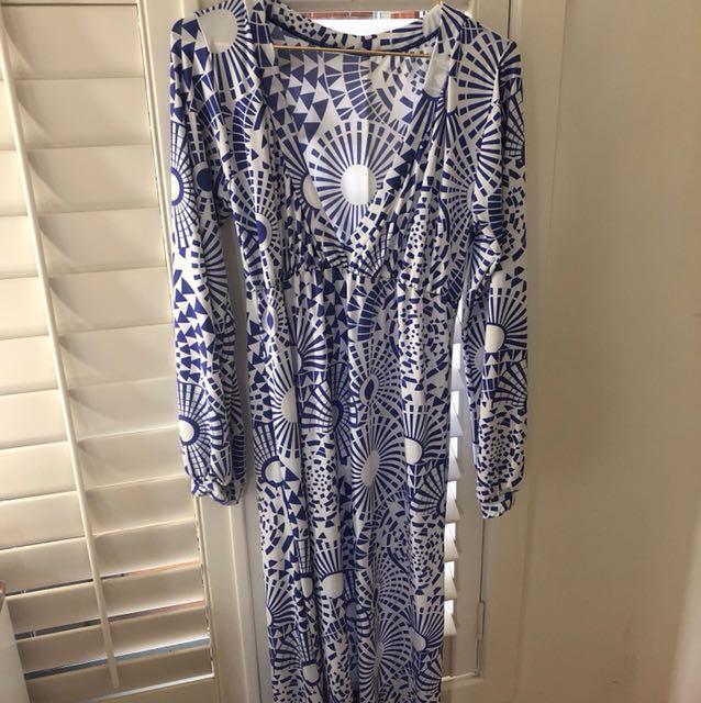 Women's maxi beach dress