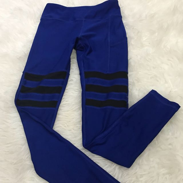 X by gottex blue legging with mesh