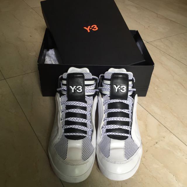fcbaaf47d Y-3 Kazuhiri Mid Top Sneakers