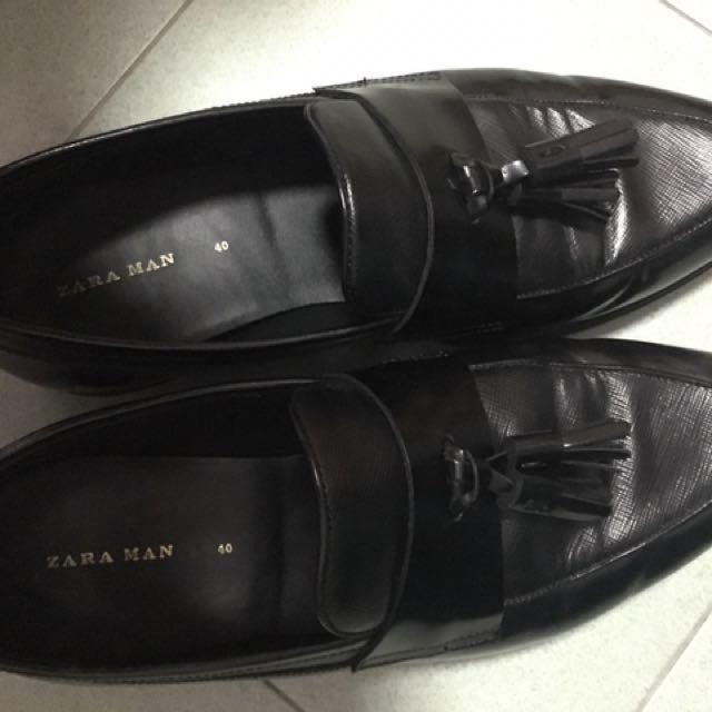 7ffb4394 Zara Casual Formal shoes, Men's Fashion, Footwear on Carousell