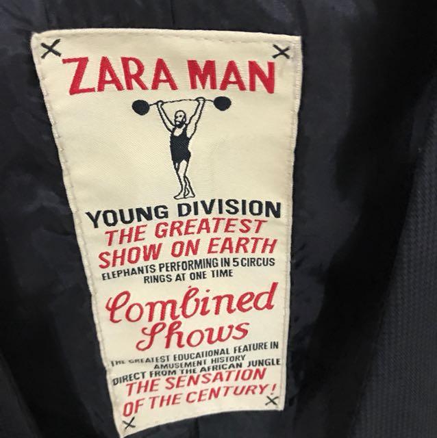 zara man yound division vest