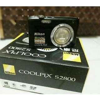 NIKON COOlPIX S2800 - CyberShot 20.1 MP