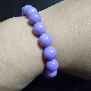 出售全新紫雲母手珠
