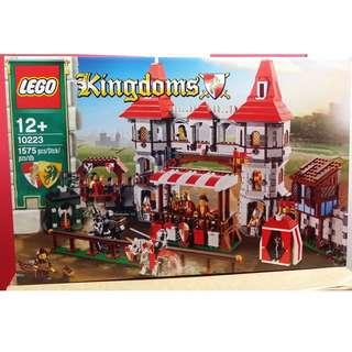 MISB 全新 Lego 10223 Castle 城堡系列 Kingdoms Joust (100%靚盒)
