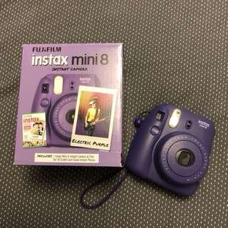 Purple Instax Mini 8