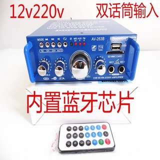 Audio Amplifier with Built-in Bluetooth