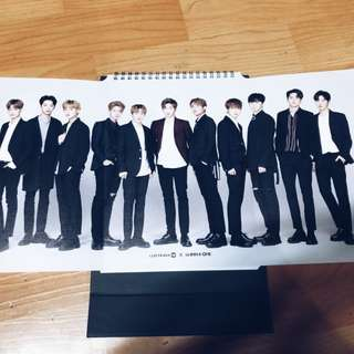 [WTS/Wanna One/Wannaone] Lotteria Calendar Ready Stock