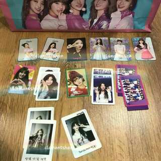 [BIG SALE] Twice Rare + Normal Photocards