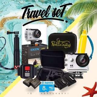 Action Camera Eken (travel set)