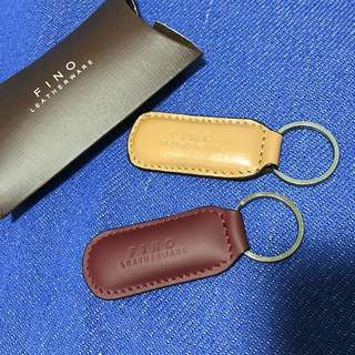 Authentic Fino Leather Keychains