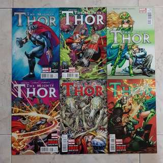 The Mighty Thor Vol 1 (Marvel Comics 6 Issues; #12.1 to 17, complete story arc)