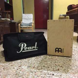 Meinl Cajon with Pearl bag