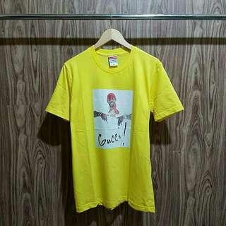 Kaos supreme x Gucci premium distro