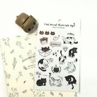 🐱可愛貓咪貼紙🐱