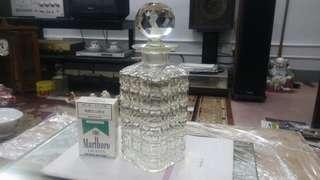 舊水晶玻璃瓶