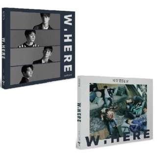 Nu'est w (w.here) album