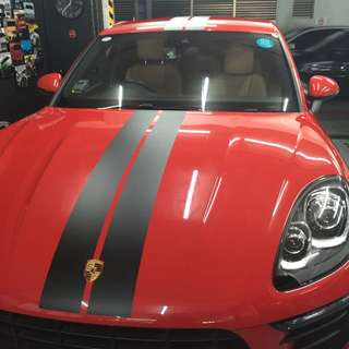 Racing stripes available