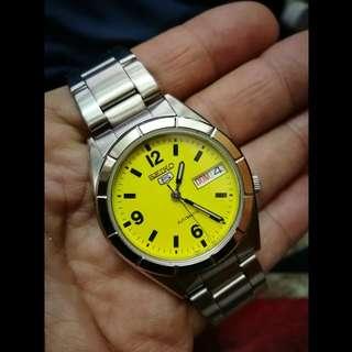 Seiko精工5號,自動錶